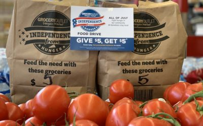 The Grocery Outlet's 5 for 5 Campaign