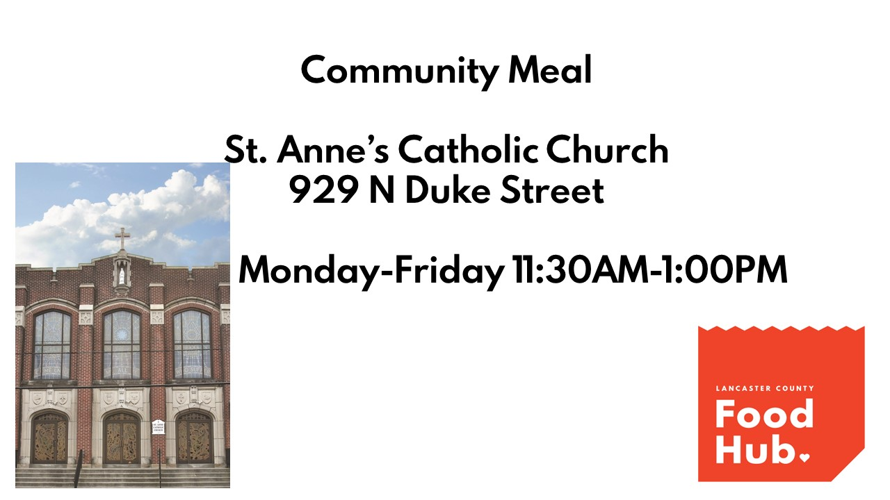 Lancaster County Food Hub: Community Meals